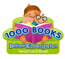 1000 books before kindergarten: Read it and reap